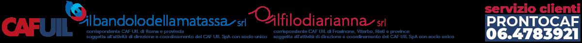 CAF UIL di Roma e Lazio Logo