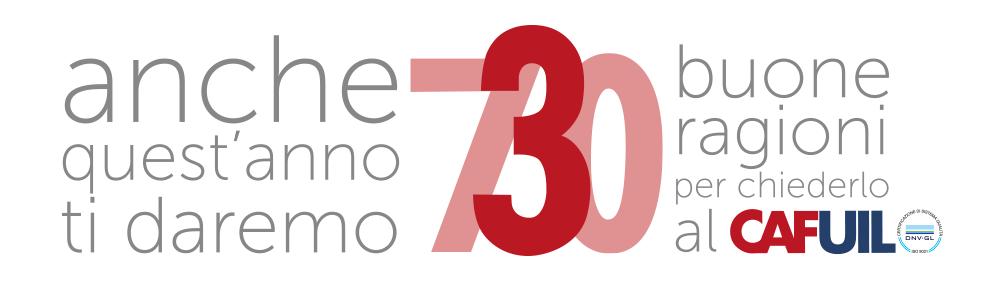 Il modello 730 al caf uil for Scadenza presentazione 730 anno 2017