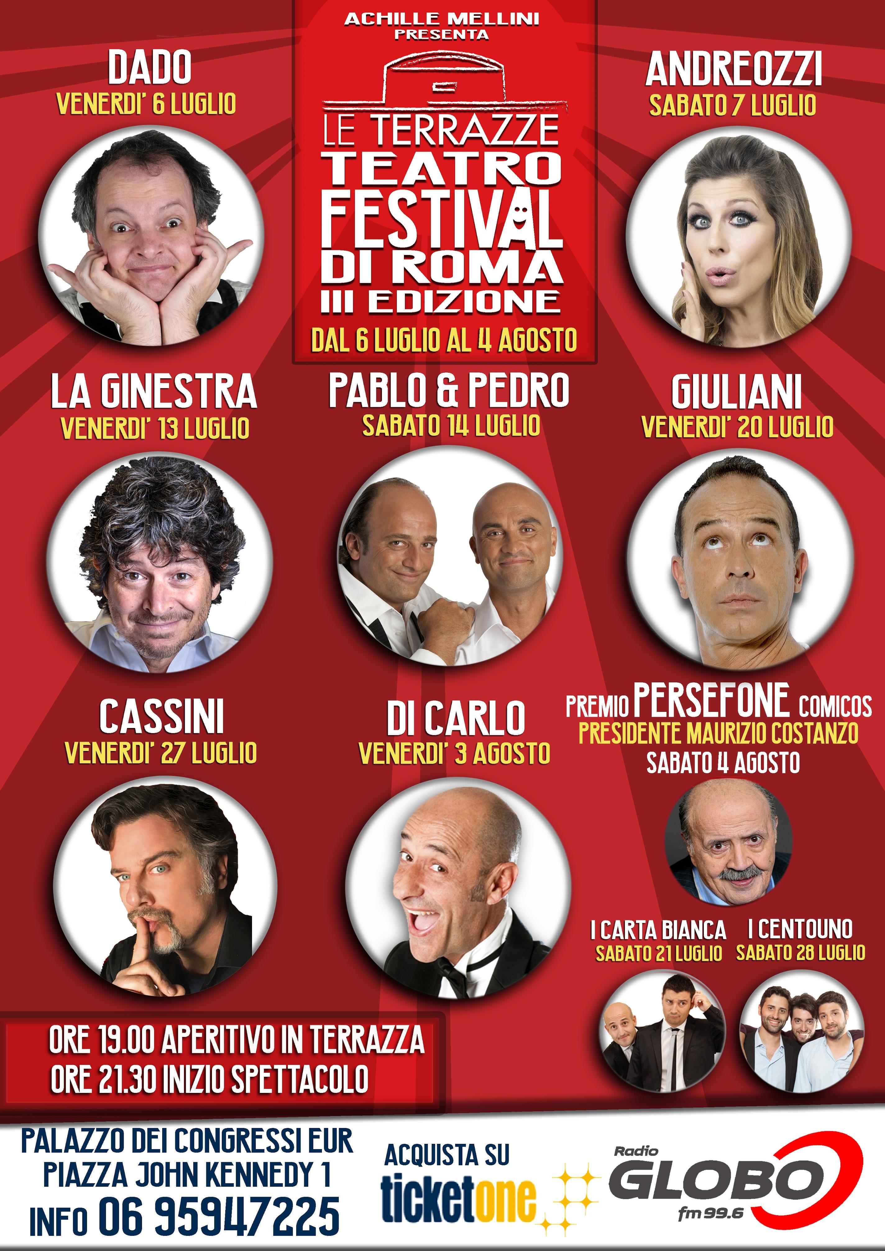 CARTACAF | TERRAZZE TEATRO FESTIVAL con Giuliani, Di Carlo ...